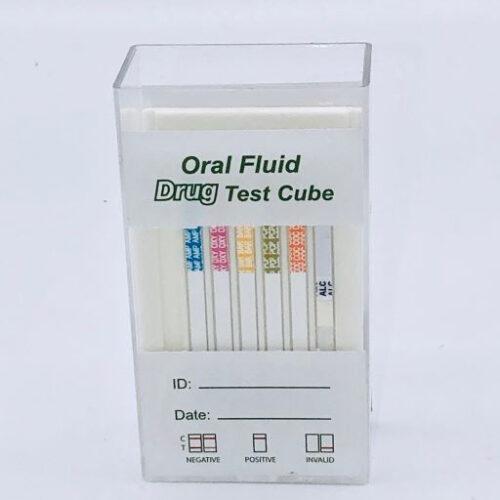 Oral Cube Drug Test